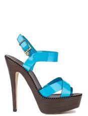 Sandále PRIMADONNA - tyrkys/ modrozelená
