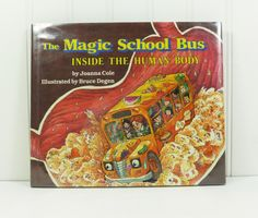 The Magic School Bus In the Human Body, Ms Frizzles Class Adventure, Signed by Illustrator by naturegirl22 on Etsy