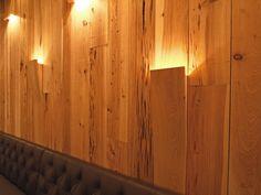 Wood Lights Wall