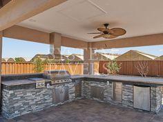 Outdoor Kitchen Sink, Backyard Kitchen, Outdoor Kitchen Design, Outdoor Kitchens, Backyard Bbq Pit, Built In Bbq, Built Ins, Bbq Island, Backyard Patio Designs