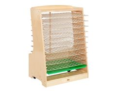 Inspiration for build-in drying rack. communityplaythings.com - H560 Drying Rack