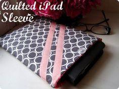 iPad Sleeve Tutorial 01