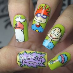 Rugrats Nails by Fingerpainted