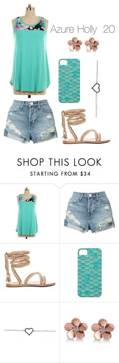 """Azure Holly"" by kbelle28 ❤ liked on Polyvore featuring 3x1 and Allurez"