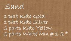 2 Good Claymates: Pantone Spring 2014 Fashion Color Sand