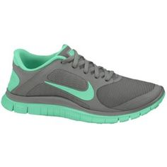5356890fc797 Nike Free 4.0 V3 - Women s - Canyon Grey Green Glow Size 9 All Nike