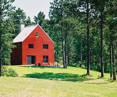 BarnHouse I | Small House Swoon Don't know square footage. Spencer, WI is where this resides, but the post says to emulate Minnesota barn. Good interior ideas.