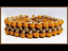 """Paracord Bracelet Tutorial: """"Praying Arms"""" Bracelet Design Without Buckle - YouTube"""