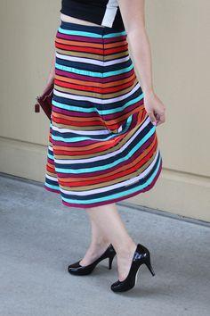 Contemporary Curves // Cynthia Rowley #croptop #curvy