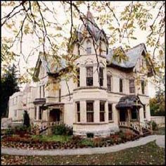 Annandale House in Tillsonburg, Ontario.  Now a museum.  My Great Great Grandfather founded the town.