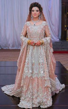 Pakistani Bridal Dresses 2018 for Wedding Parties Bridal Dresses 2018, Wedding Dresses For Girls, Bridal Outfits, Eid Dresses, Pakistani Wedding Dresses, Pakistani Outfits, Indian Dresses, Indian Outfits, Pakistan Bride