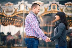 carousel surprise Engagements » NYC based photographer, Sascha Reinking Photography, color photos