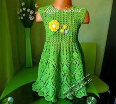 vestido de foto crochet