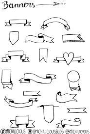 Resultado de imagem para how to make banners doodle