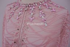 Kebaya, Embroidery Designs, Embellishments, Evening Dresses, Fashion Dresses, Gowns, Beads, Detail, Womens Fashion