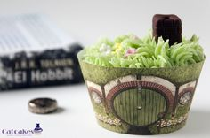 The Hobbit cupcake #Hobbit #Middle-earth