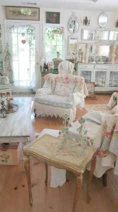 Vintage Furniture Germany Shabby Chic Bedroom With Dark Furniture