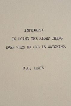 indeed... such true words...