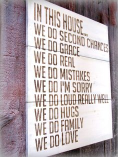 I am SO doing this & hanging it up in our kitchen--Love the look & love the quote