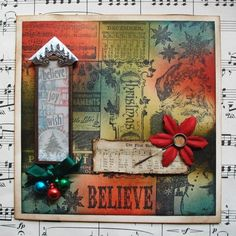 Tim Holtz Christmas Cards | Tim Holtz Christmas Card | The wonderful Tim Holtz