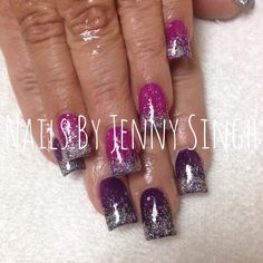 Nails by Jenny Singh-color changing