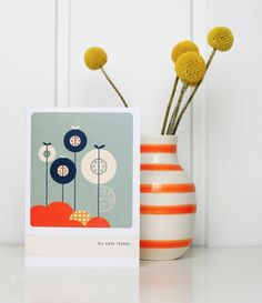 All Good Things card from the Haberdashery collection, Darling Clementine