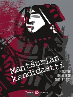 Teema Film Festival 2011 (The Manchurian Candidate) Poster by Kirsi Kukkurainen / YLE