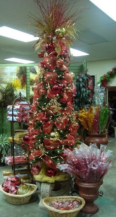 Red and Gold Tree
