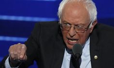 """Bernie Sanders:  """"If Donald Trump takes people's anger and turns it against Muslims, Hispanics, African Americans and women, we will be his worst nightmare."""""""