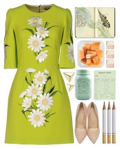 """Early Spring"" by lover-of-pie ❤ liked on Polyvore featuring Dolce&Gabbana, Charlotte Olympia, Moleskine, Henri Bendel and ZoÃ« Chicco"