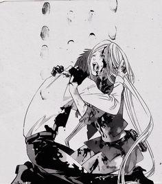 Kazuma and Bishamon - HNNGH!!