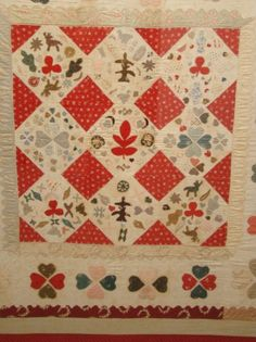 19th c. folk art quilt