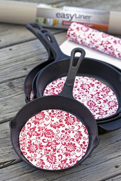 DIY Cast Iron Pan Protectors