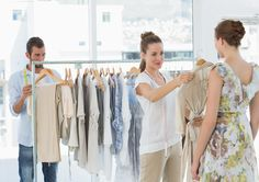 Find Female Seller Helping Shopper Choose Clothes stock images in HD and millions of other royalty-free stock photos, illustrations and vectors in the Shutterstock collection. Future Trends, Make A Change, Good Customer Service, Winter Colors, Consumerism, Wardrobe Rack, Photo Editing, Royalty Free Stock Photos, Layout