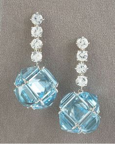 Paolo Costagli Topaz Dangle Earrings
