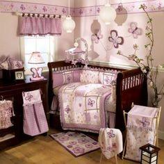 Sugar Plum Crib Bedding and Accessories Set