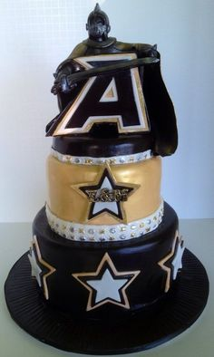 West Point Black Knight Cake...Maybe Adam's birthday cake??