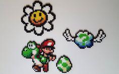 Yoshi & bébé Mario Super Mario World 2: Yoshi Island par LinlyBits