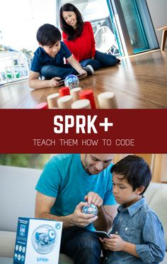 SPRK+ makes computer programming simpler, practical and (most importantly) fun! How does SPRK+ work? Start by using phones and tablets to write commands through a visual interface on the SPRK+ app. Then assemble a series of commands to program the tiny computer inside the clear, plastic shell. Junior programmers will Immediately see the connection between the program they created and how SPRK+ works and reacts.  A perfect gift for brainy kids of all ages!