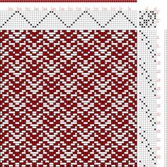Hand Weaving Draft: Page 130, Figure 15, Donat, Franz Large Book of Textile Patterns, 8S, 8T - Handweaving.net Hand Weaving and Draft Archive
