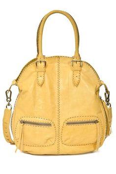 Carla Mancini Foldover Messenger Bag