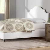 Found it at Wayfair - Amesbury Upholstered Panel Bed
