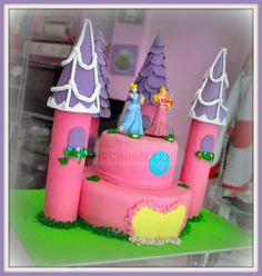 Virginias Cake: TARTAS PRINCESAS 4