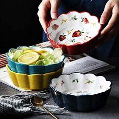 Snack Bowls, Salad Bowls, Cake Bowl, Salad Cake, Rice Desserts, Fruit Soup, Kitchenware, Tableware, Nordic Style