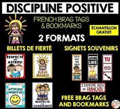 FREE FRENCH BRAG TAGS - SIGNETS DE FIERTÉ GRATUITS