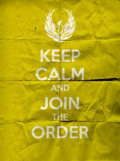 ...join the order