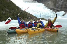 Serrano Glacier in Patagonia.