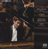 Beethoven: Piano Concertos Nos. 4 & 5 [Super Audio Hybrid CD]