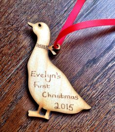 Personalised / Customised Rustic wooden Christmas by BeyondTheShed