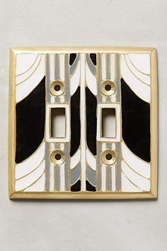 Retro Swirl Switch Plate - anthropologie.com
